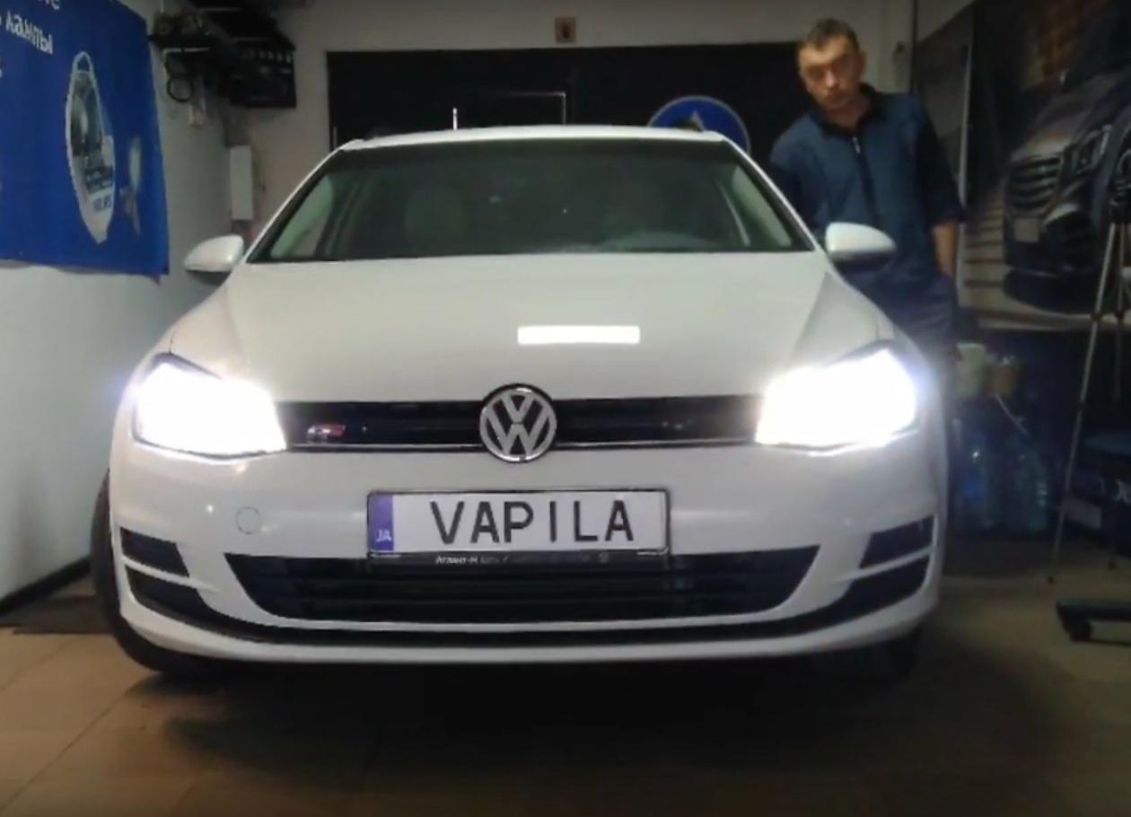 Светодиодные лампы вместо штатных – тест на наших дорогах (видео)