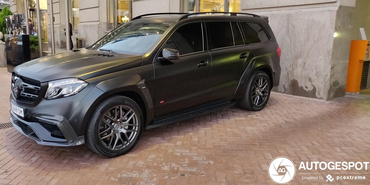 В Украине засветился сверхмощный Mercedes GLS Brabus