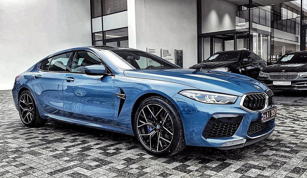 В Украине засняли самый крутой седан BMW