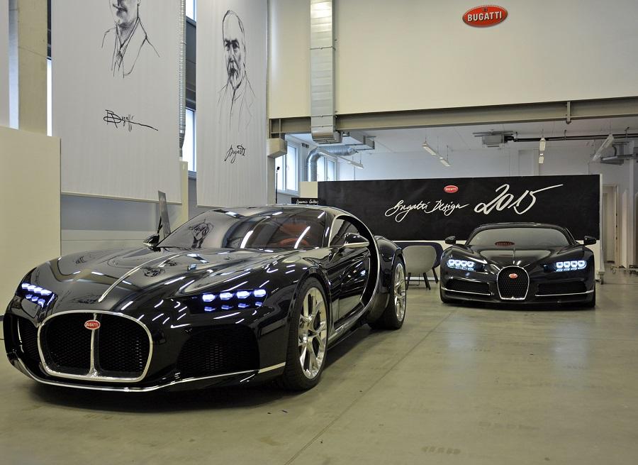 Опубликованы фото секретных концептов Bugatti