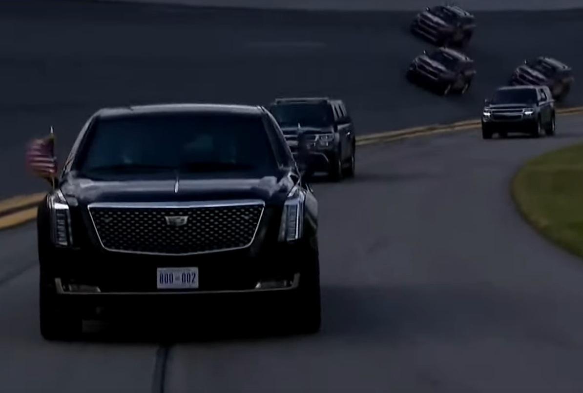 Президентский лимузин принял участие в самой экстремальной автогонке