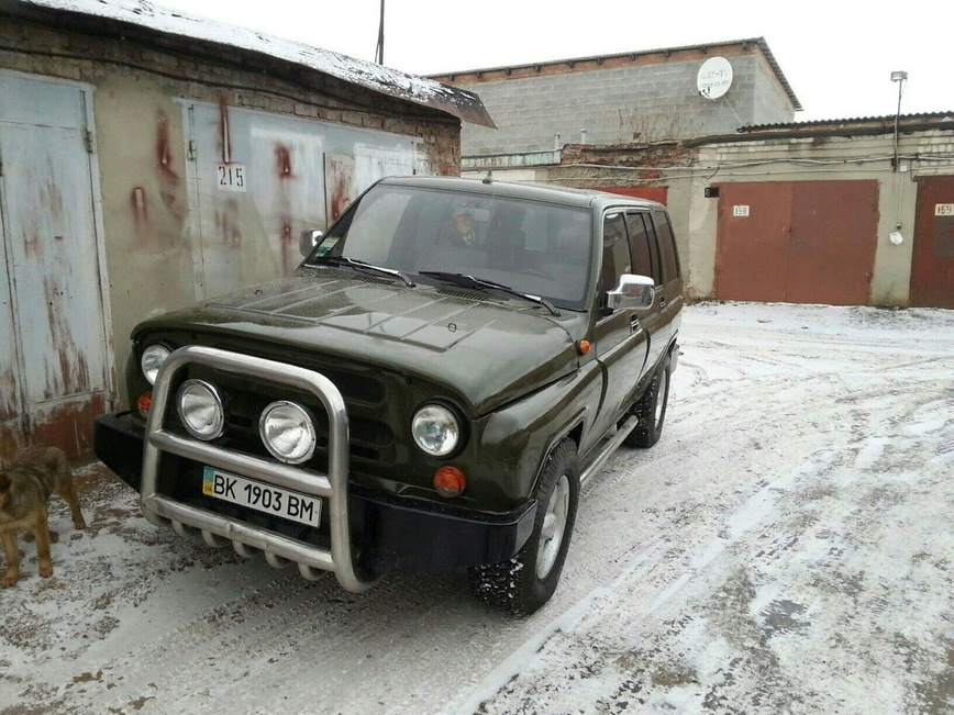 Украинский умелец скрестил УАЗ и старый Opel