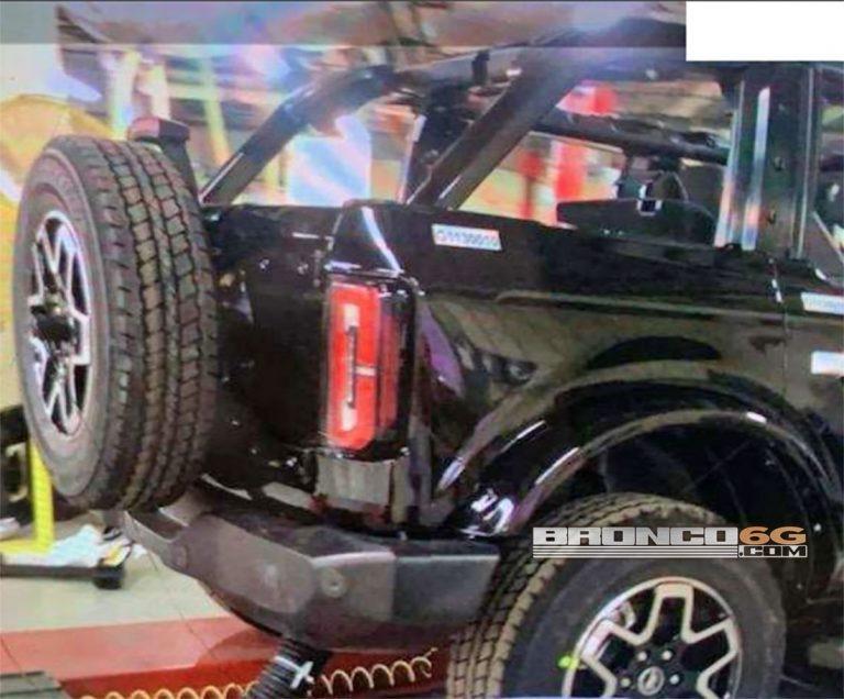 Новый Ford Bronco 2021 рассекретили перед премьерой