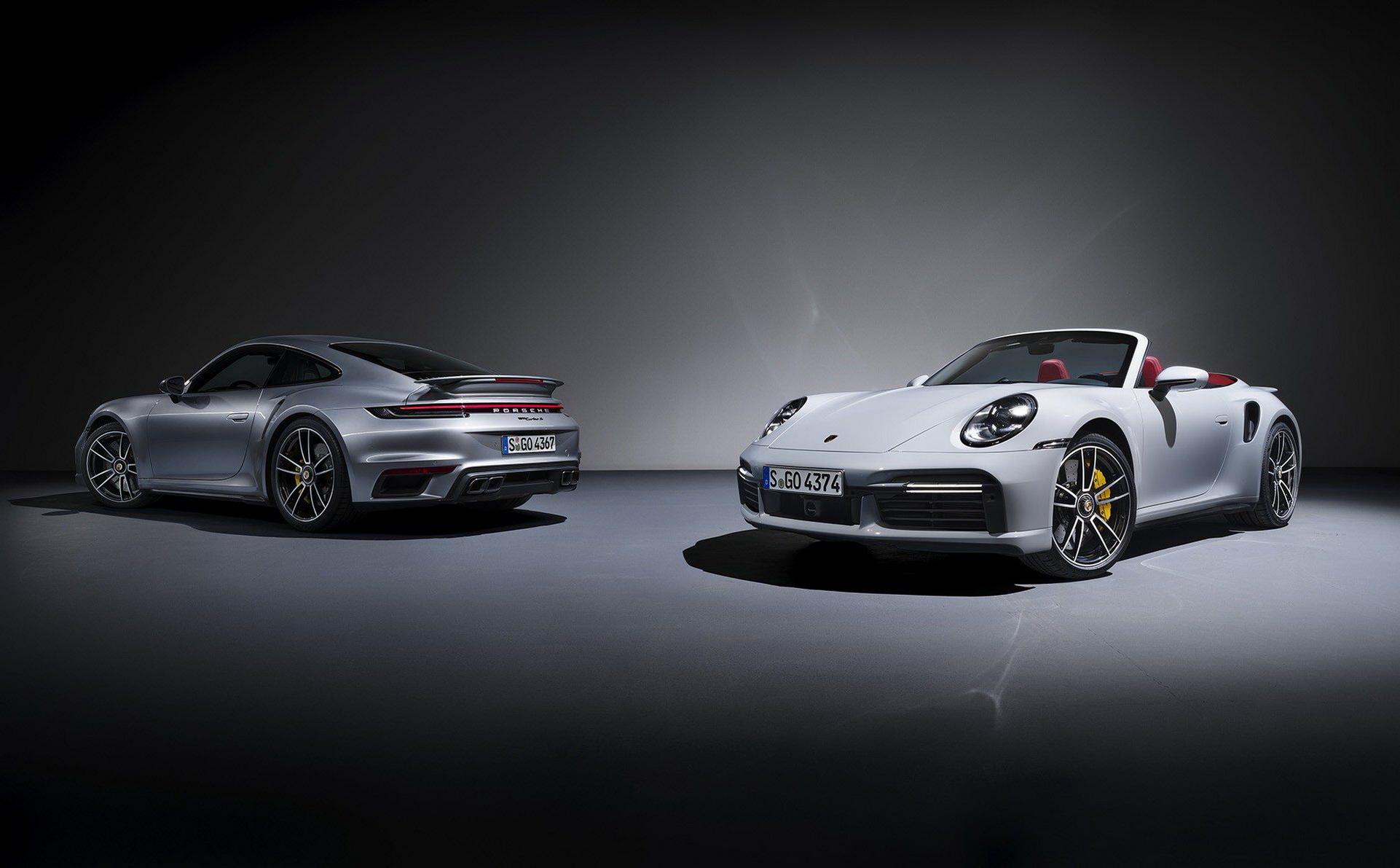 Новый Porsche 911 Turbo полностью рассекречен