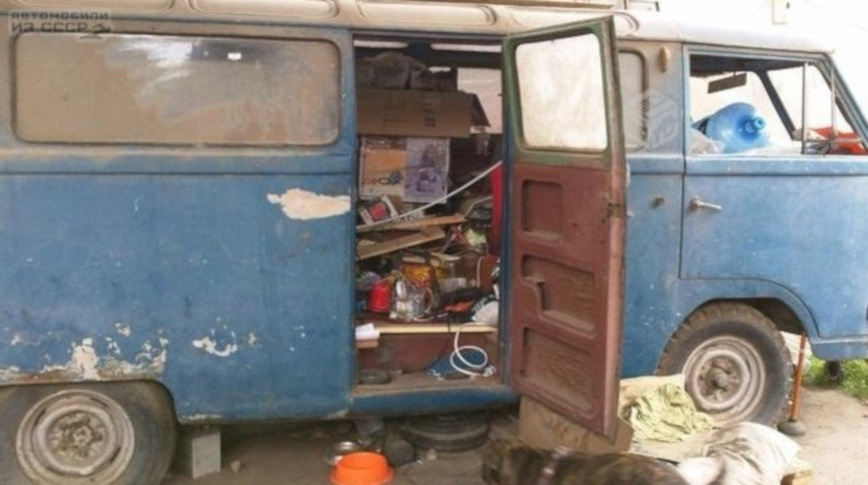 В Америке обнаружен редчайший советский микроавтобус