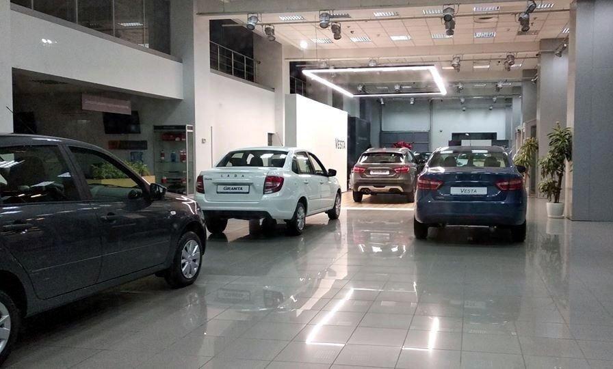 В Киеве обнаружили автомобили Лада украинской сборки