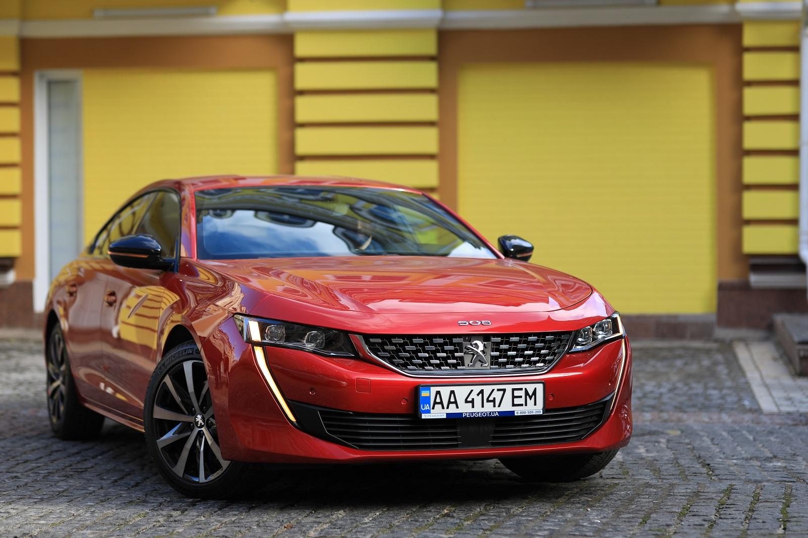Тест нового Peugeot 508 — насколько хорош Автомобиль года 2020 в Украине