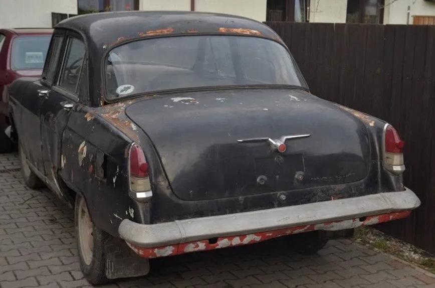 На продажу выставлена уникальная дизельная Волга ГАЗ-21