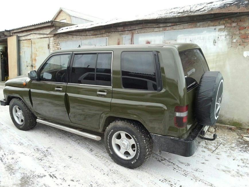 Украинец скрестил УАЗ и старый Opel