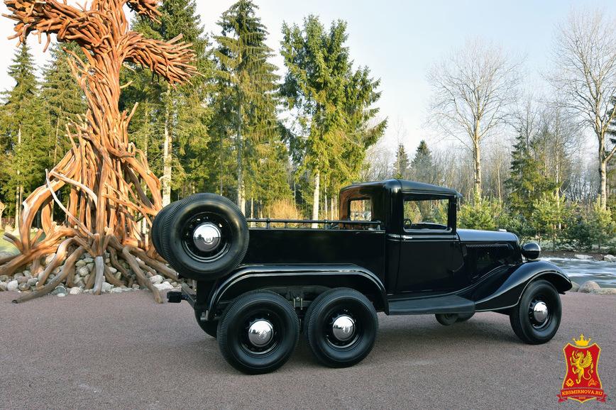 Уникальный шестиколесный пикап ГАЗ, о котором никто не знал