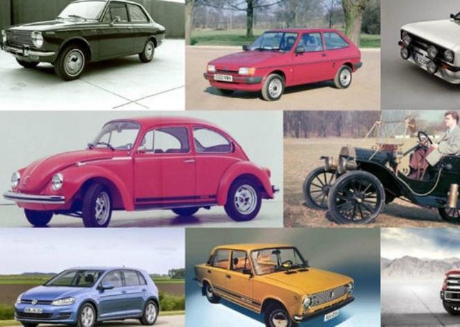 ТОП-10 самых продаваемых авто в истории