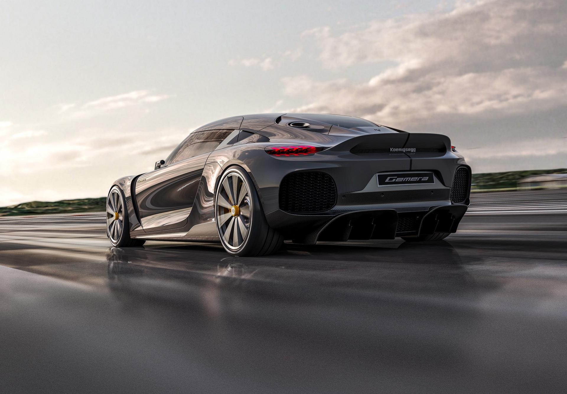 Первые фото и характеристики четырехместного гиперкара Koenigsegg