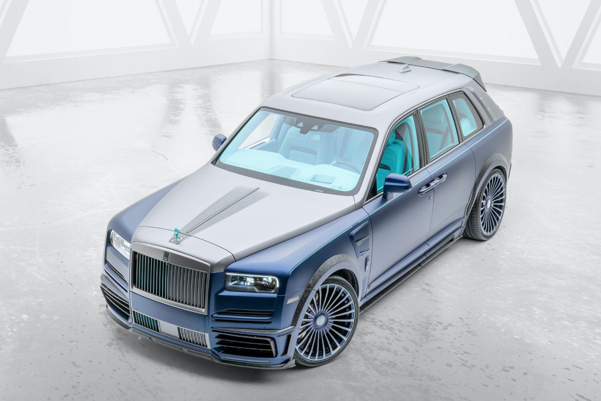 Mansory сделала внедорожник Rolls-Royce для цыганских баронов