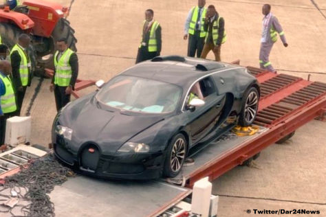 Полиция пустит под пресс эксклюзивный гиперкар Bugatti