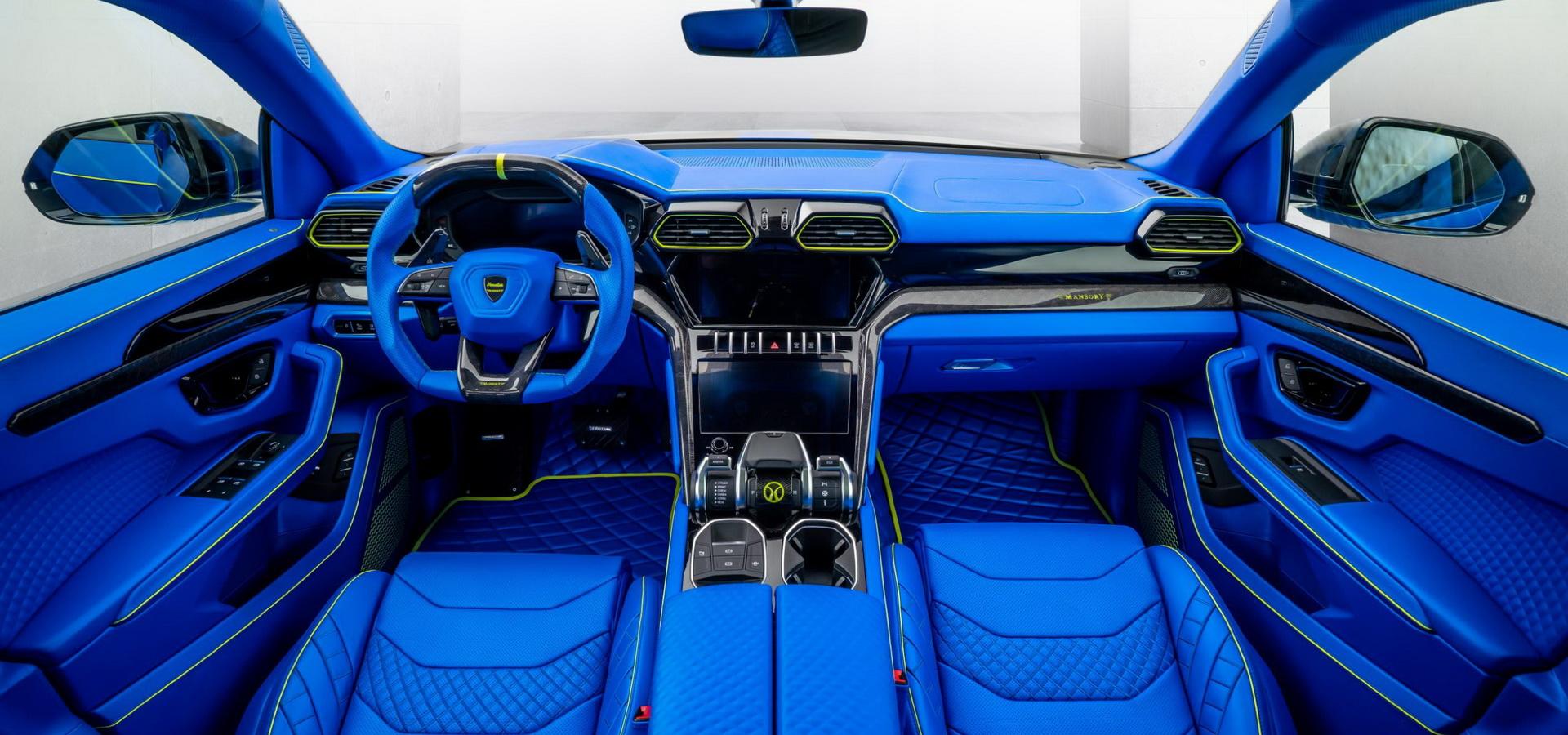 Самый невероятный тюнинг Lamborghini Urus от Mansory