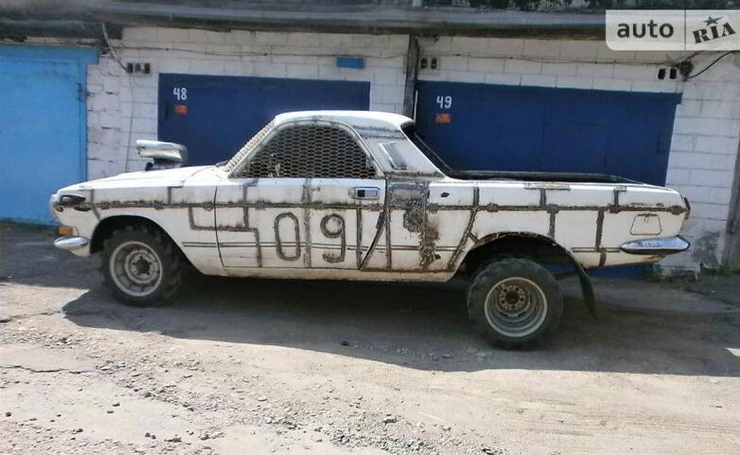 На продажу выставлен странный пикап Волга в стиле Безумного Макса