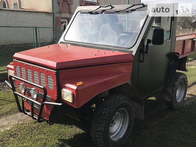 Украинец сделал мотовездеход за $4000