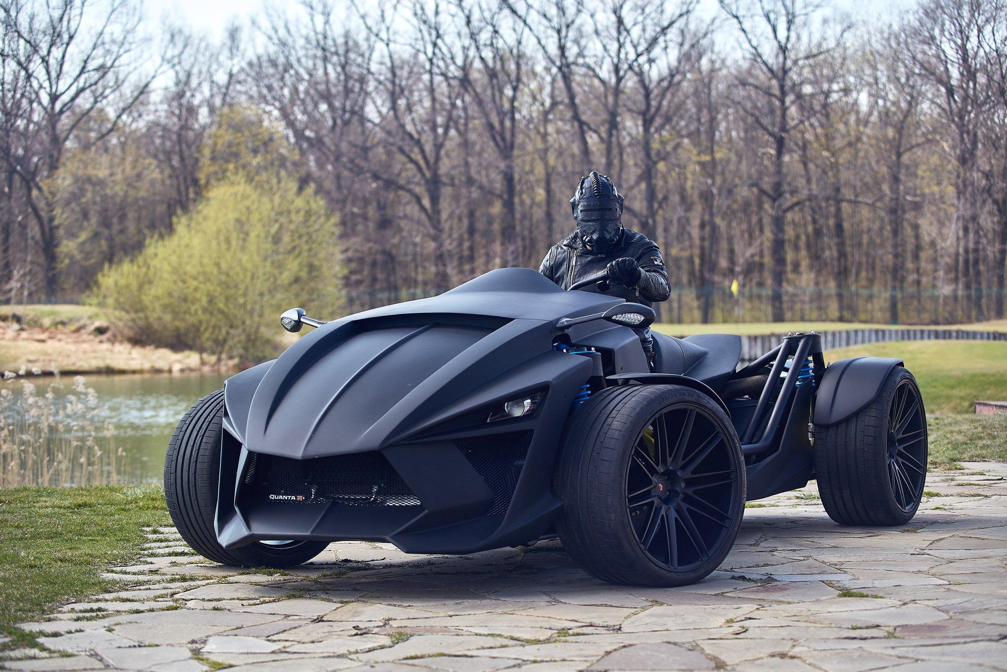 В Украине построили невиданный миру концепт-кар с разгоном гиперкара (фото)