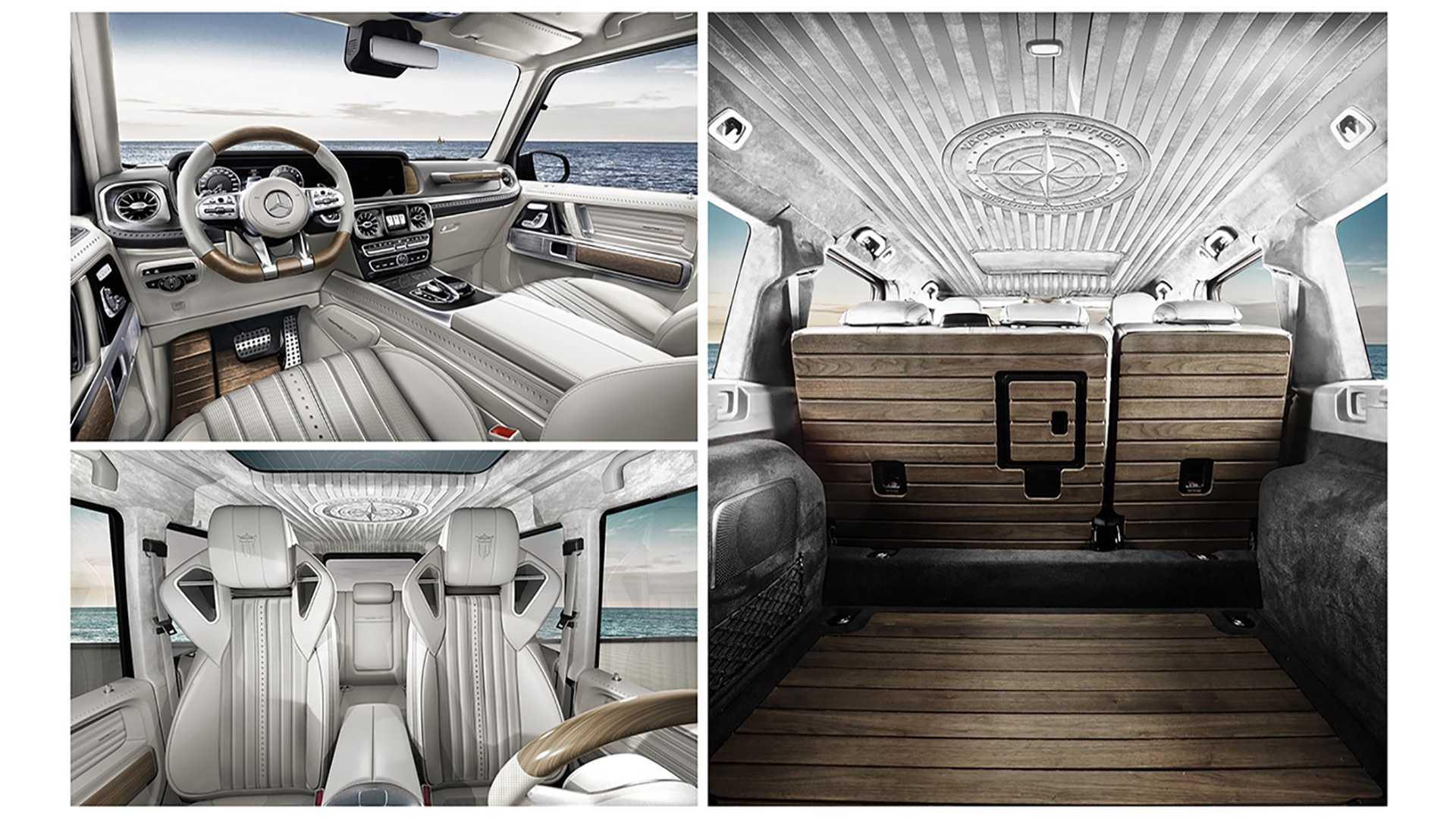 Самый впечатляющий тюнинг Mercedes G-Class