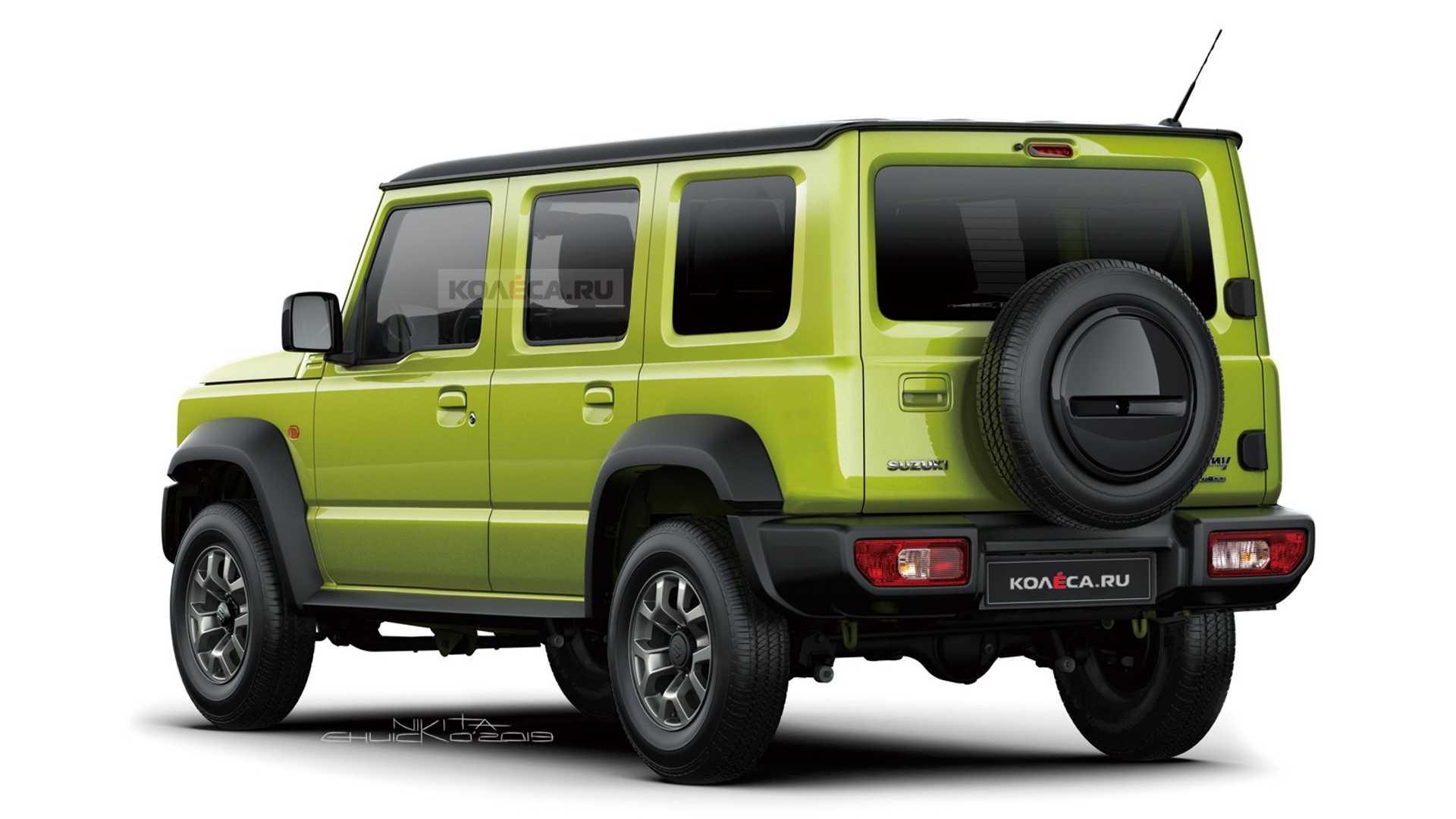 Suzuki Jimny получит удлиненную семейную версию
