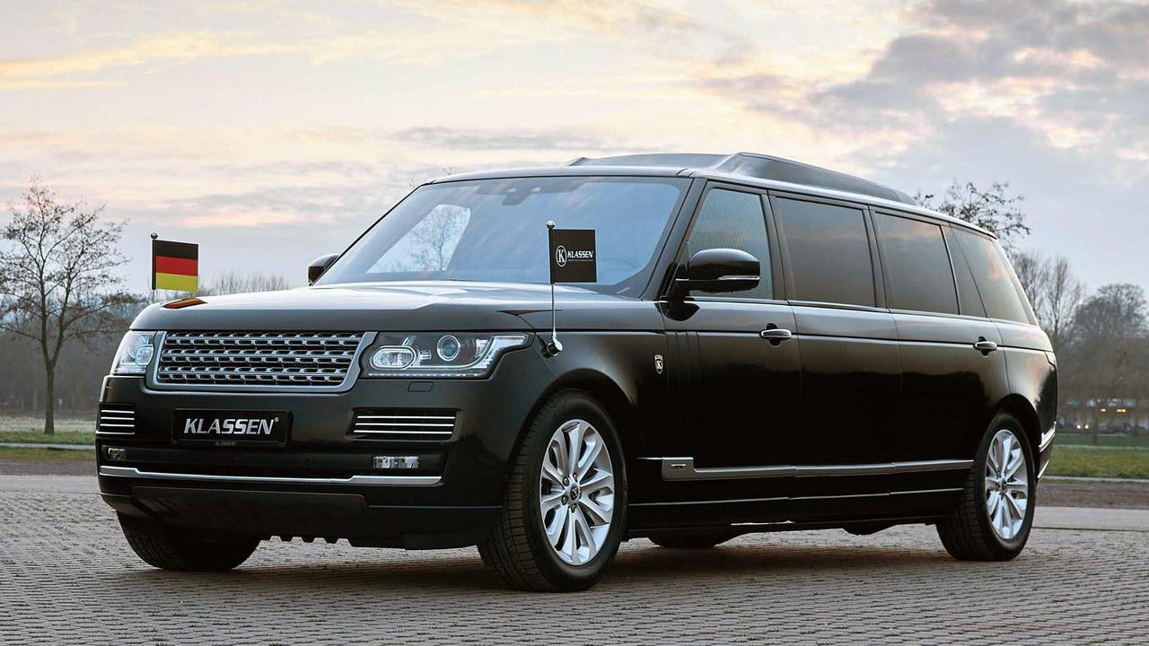 Первые фото роскошного бронированного лимузина Range Rover для олигархов