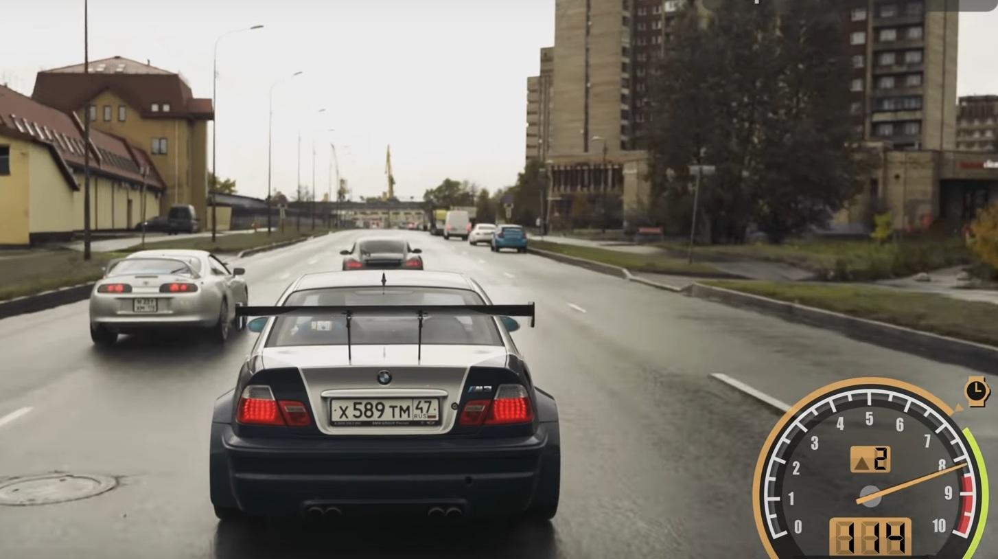 Культовую игру Need for Speed воссоздали в реальной жизни (видео)
