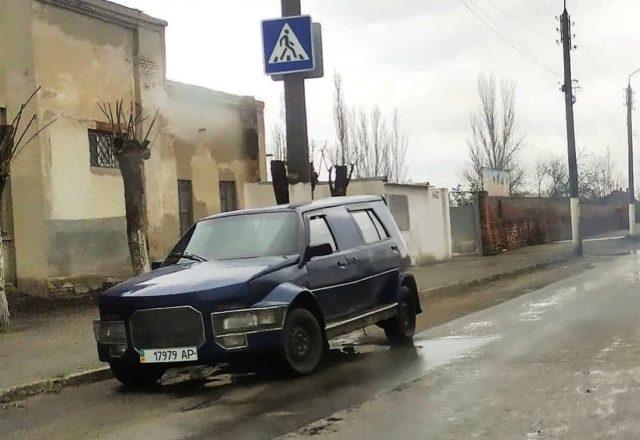 В Украине появился уникальный кроссовер ЗАЗ Славута