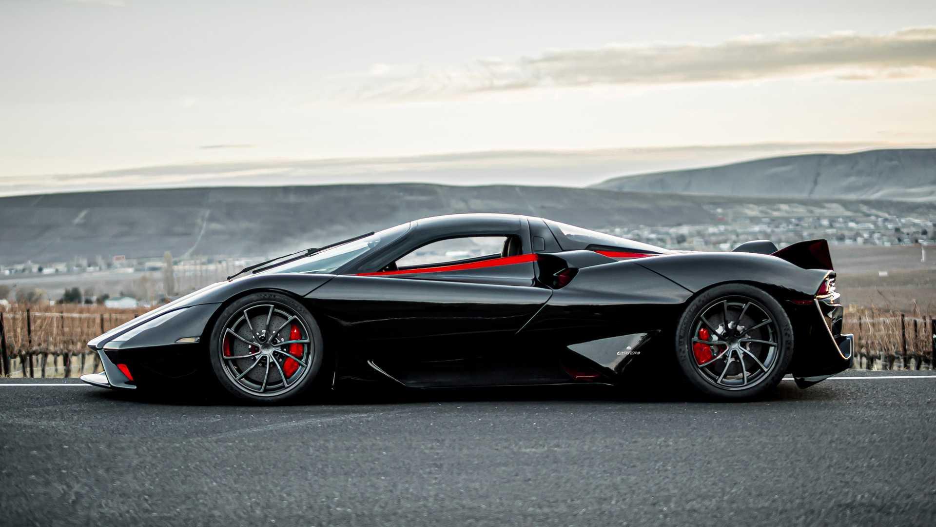Самый быстрый суперкар в мире впервые показался на видео