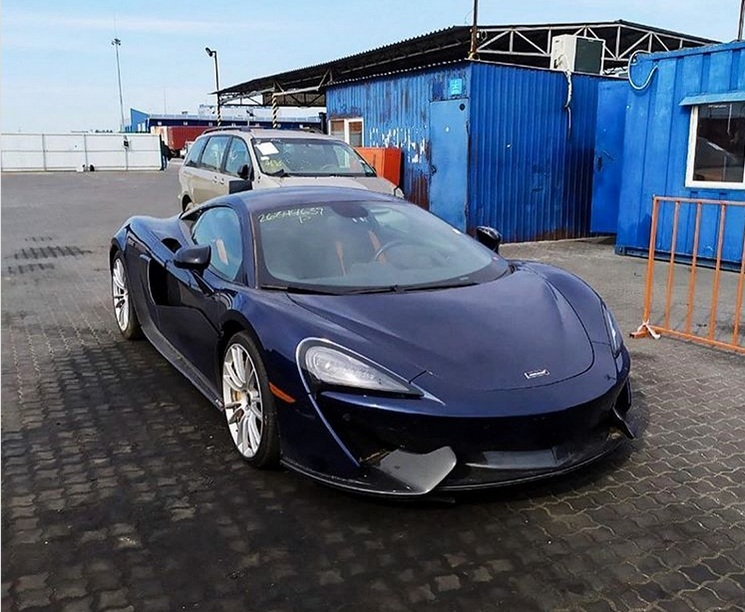 В Украине появился крутой суперкар McLaren