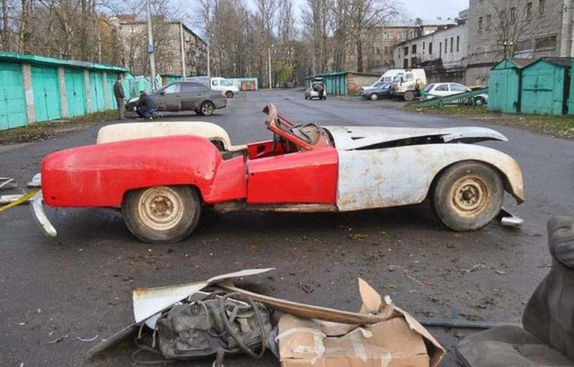 Уникальный советский спорткар восстановили по фото
