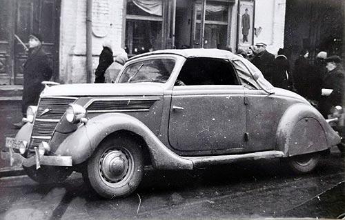 Какие Майбахи и другие элитные авто были в Киеве полвека назад