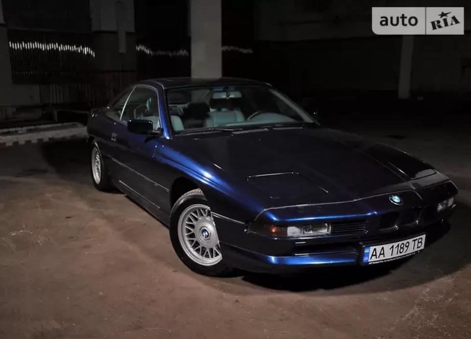 Депутат выставил на продажу раритетный спорткар BMW (видео)