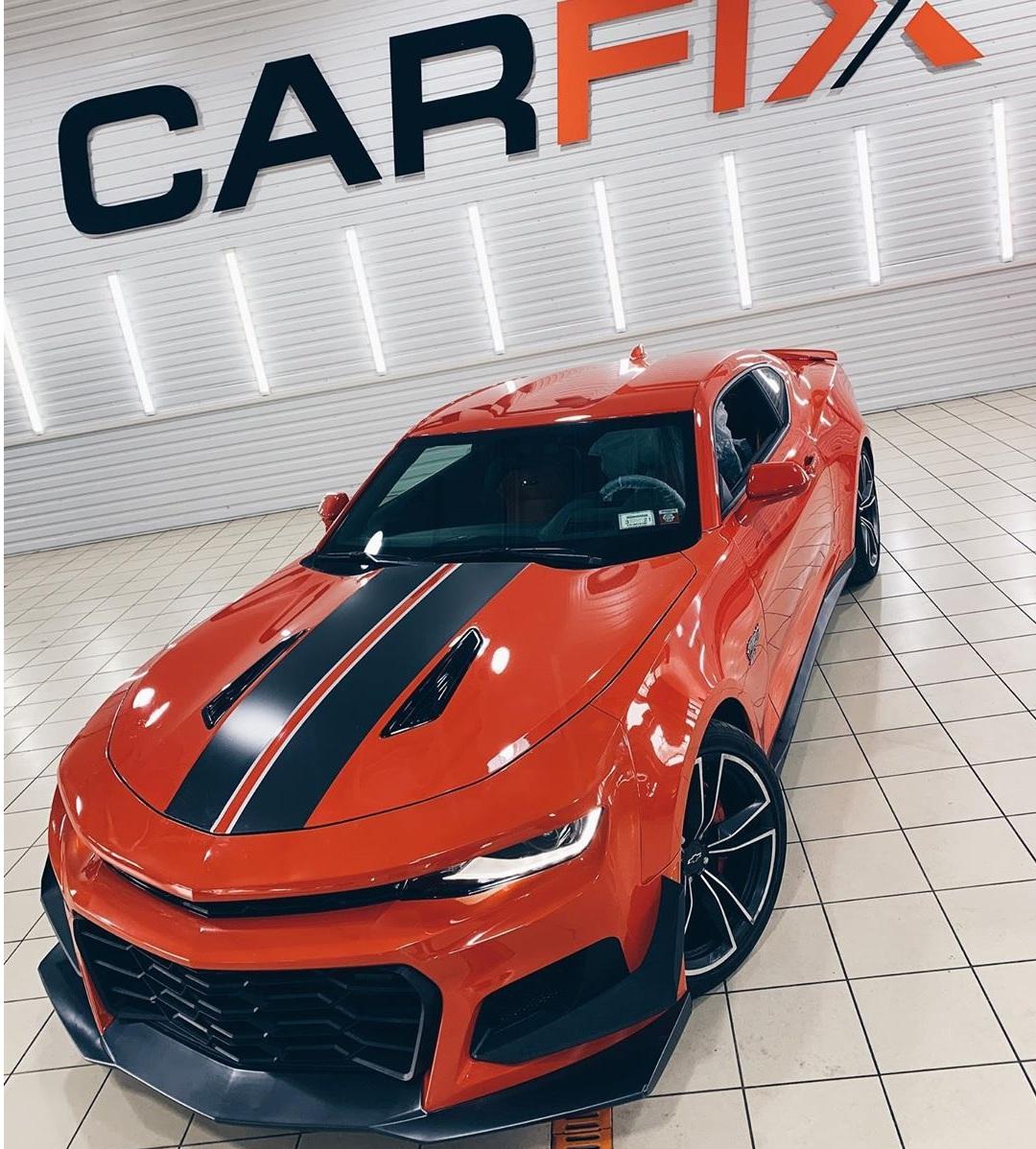В Украине появился редчайший лимитированный Chevrolet Camaro