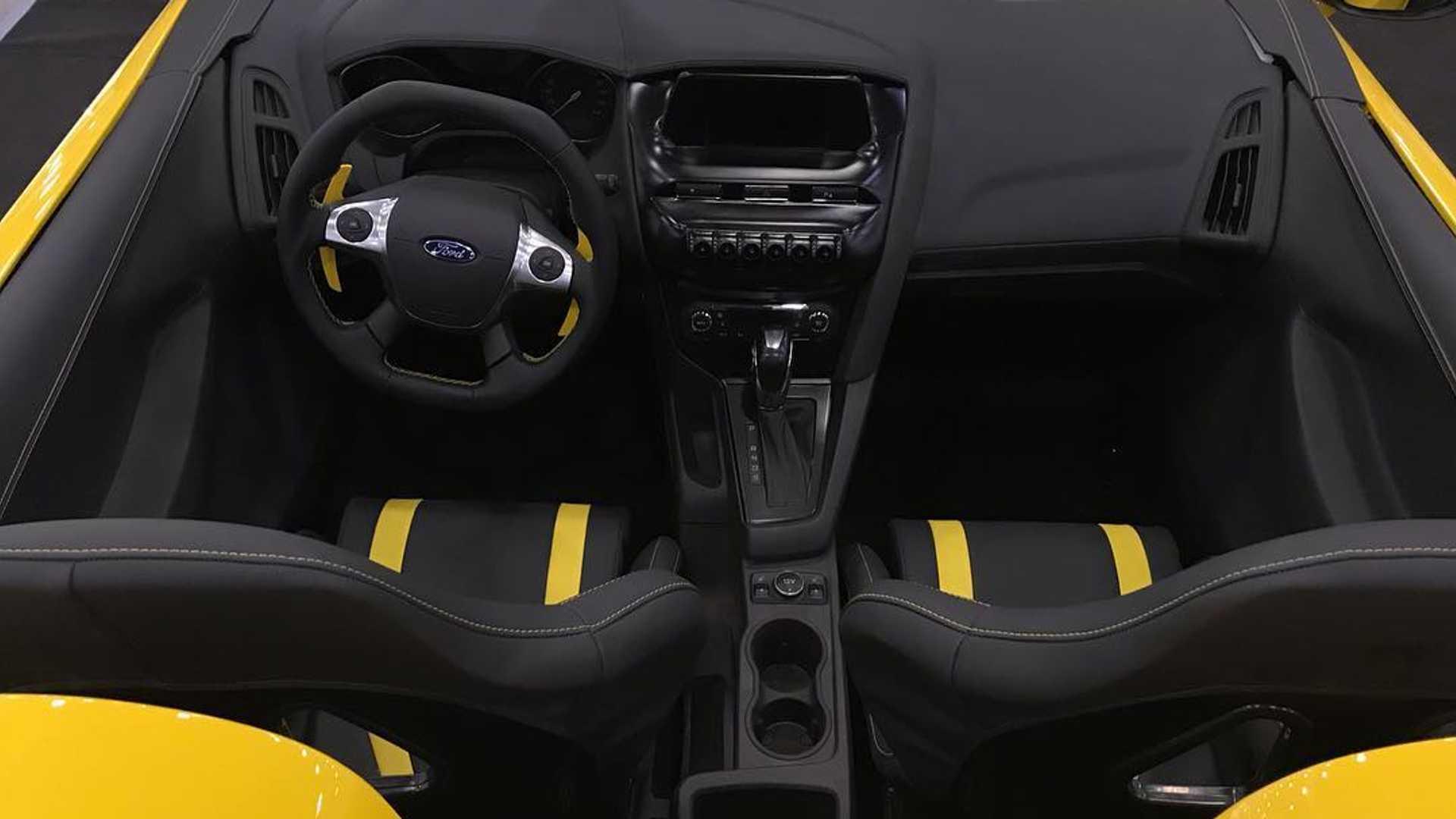 Самый невероятный тюнинг Ford Focus в стиле Ferrari и McLaren