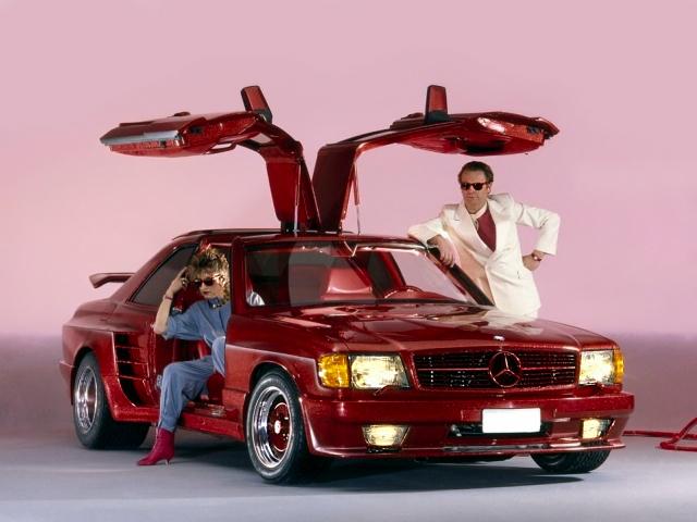 Самые яркие и безумные автомобили 80-х