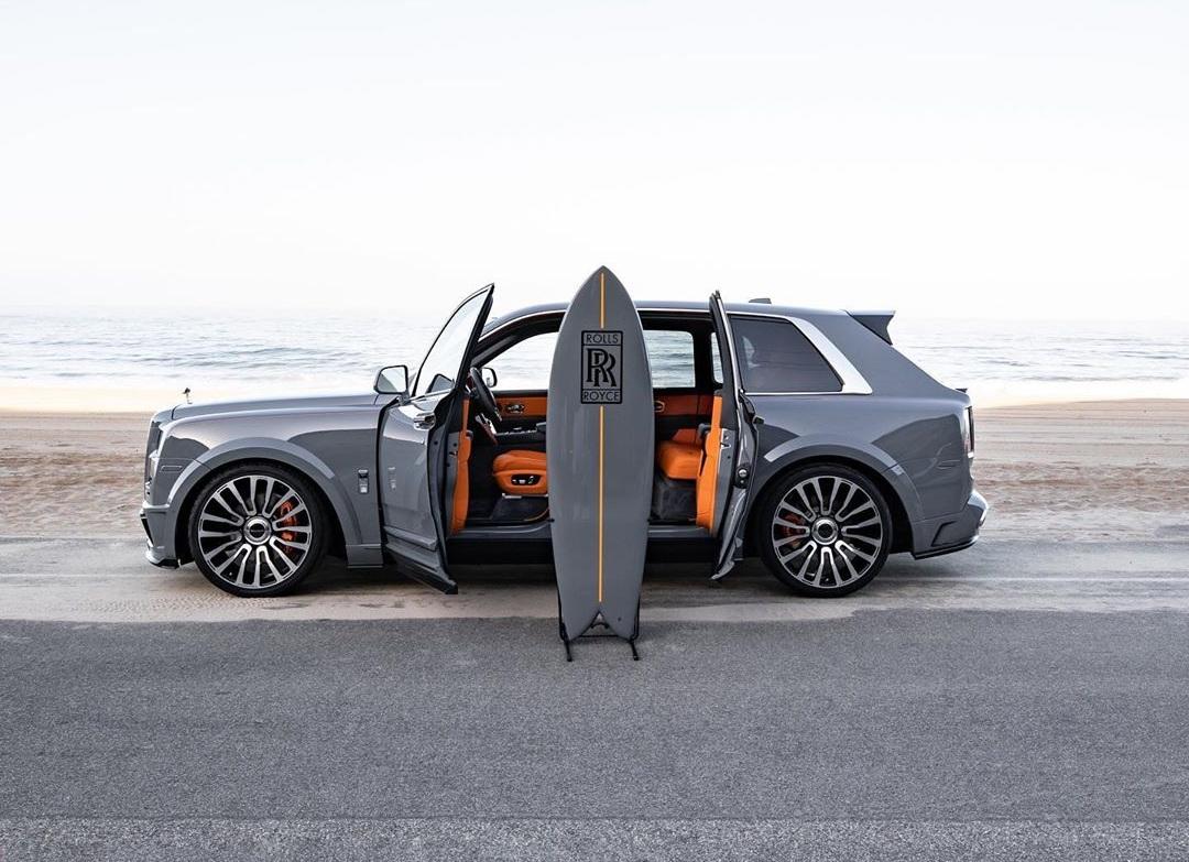 Внедорожник Rolls-Royce получил очень нестандартную опцию