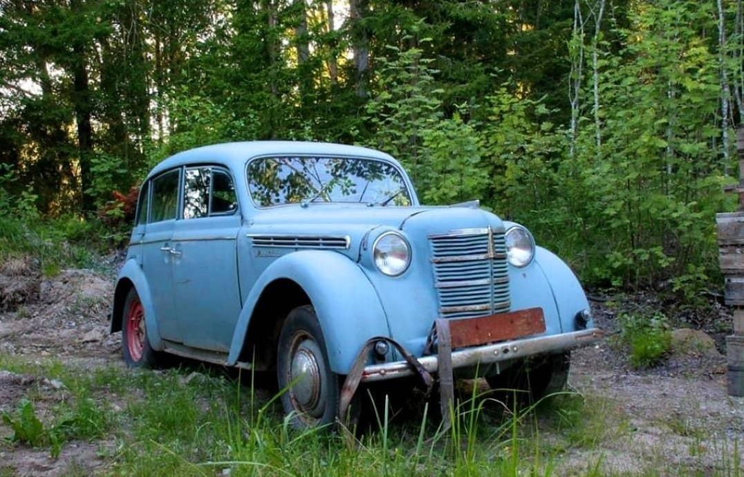В Европе обнаружили кладбище советских авто