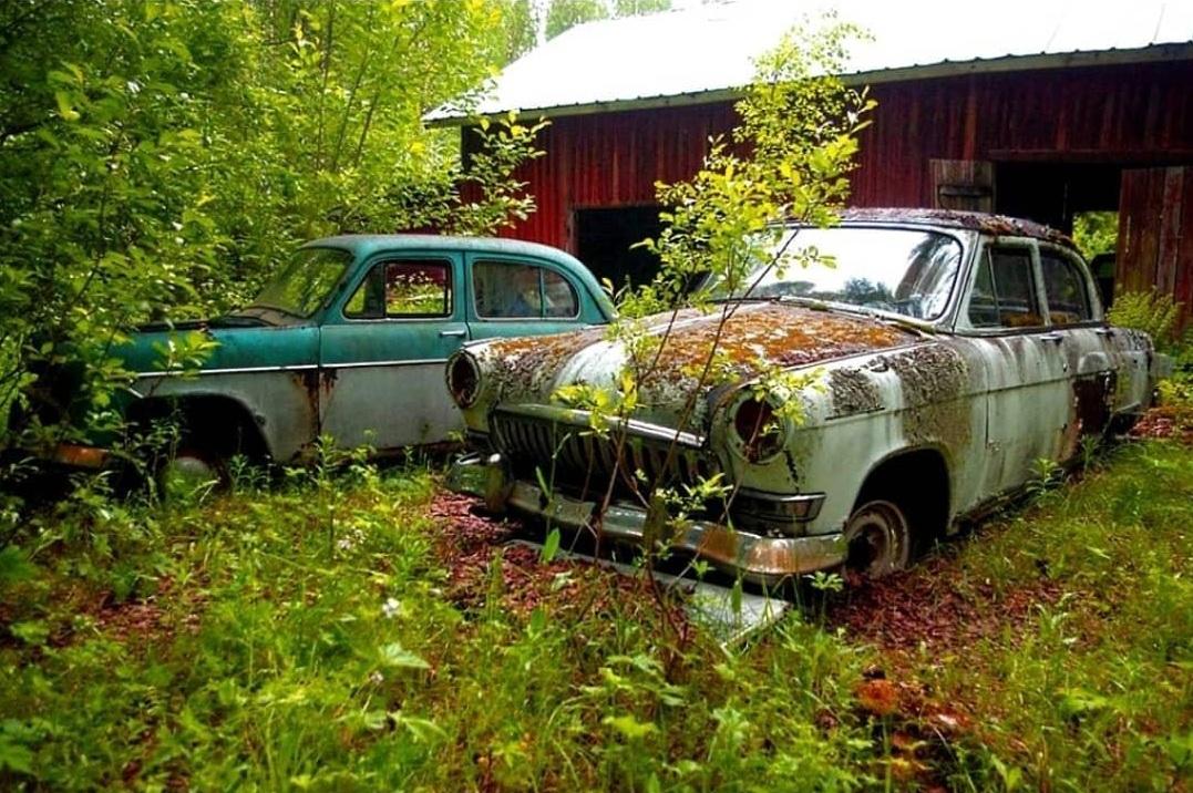 В Европе обнаружили кладбище старых советских авто
