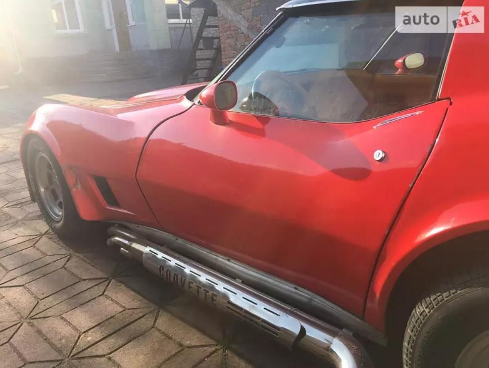В Украине продается культовый американский спорткар 80-х
