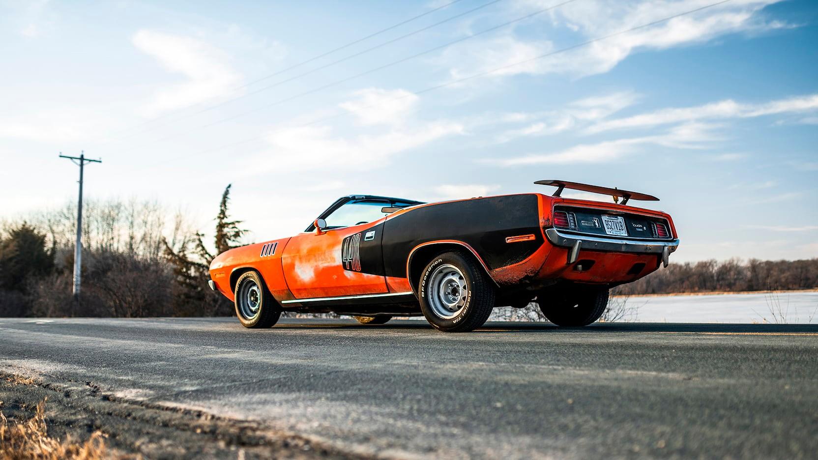 Ржавый американский авто 70-х продают по цене двух Lamborghini