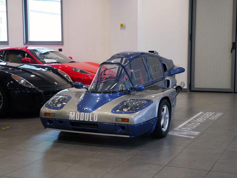 Обнаружен уникальный трехколесный спорткар BMW