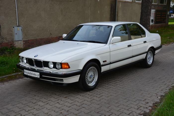Обнаружена культовая 30-летняя семерка BMW с пробегом меньше тысячи км