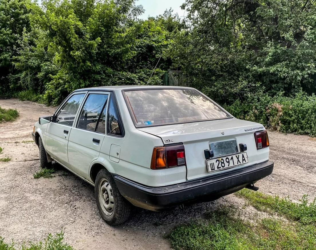 В Украине нашли идеально сохраненную Toyota на советской регистрации