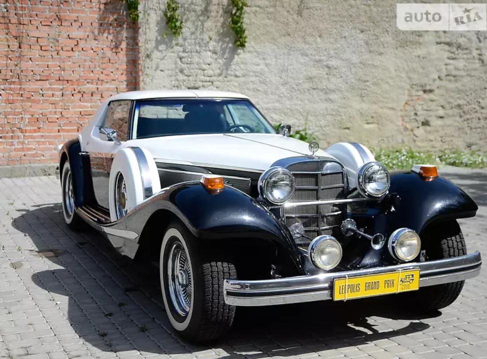 В Украине продают очень крутой и очень редкий американский ретро-авто