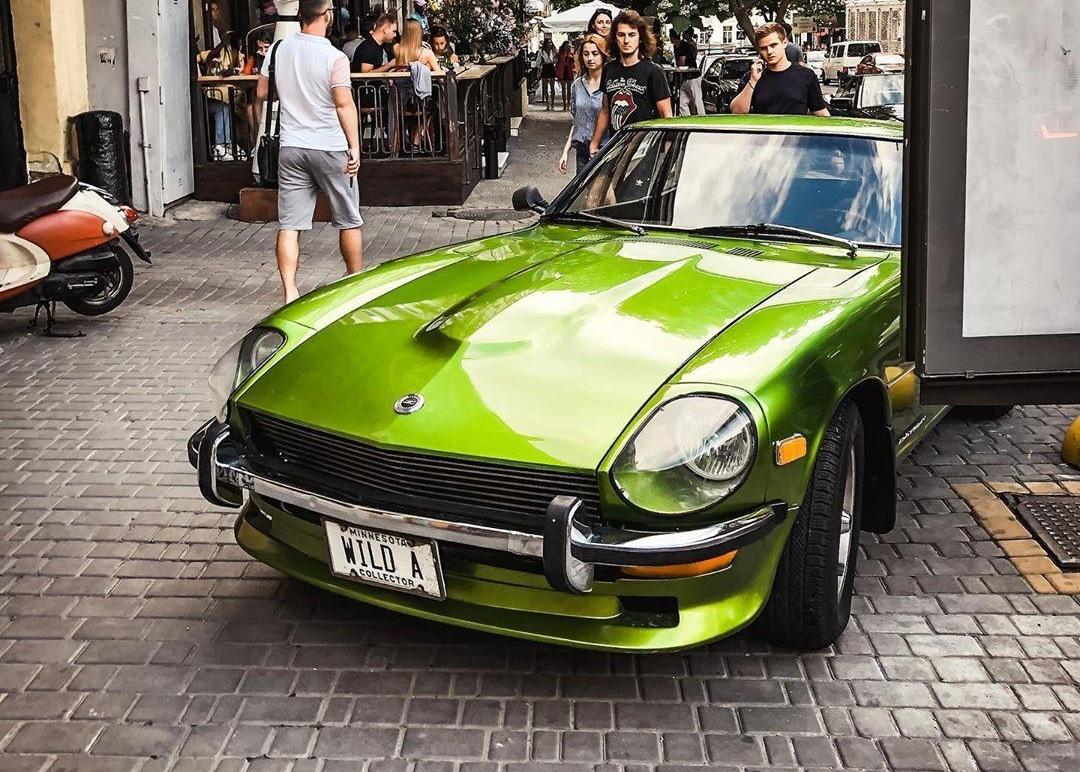 В Украине засветился культовый японский спорткар 70-х