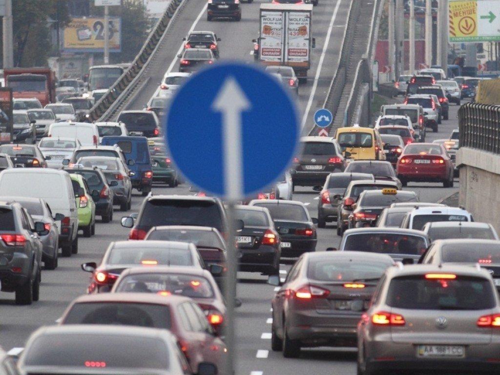 Пробки в Киеве оказались одними из самых больших в мире