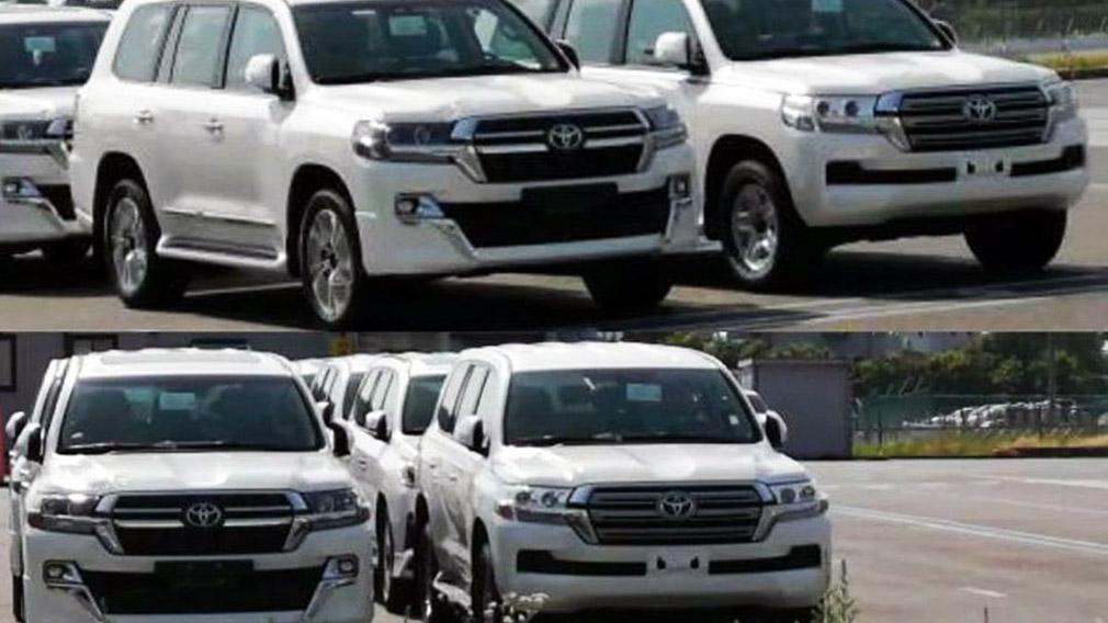 Первые фото нового Toyota Land Cruiser 2021 года