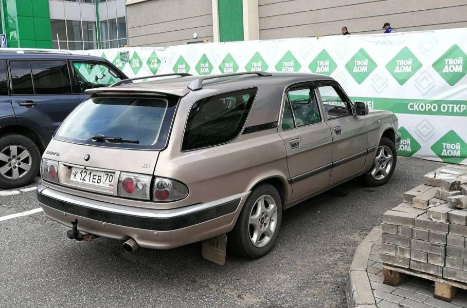 Самый нестандартный тюнинг Волги ГАЗ-3110