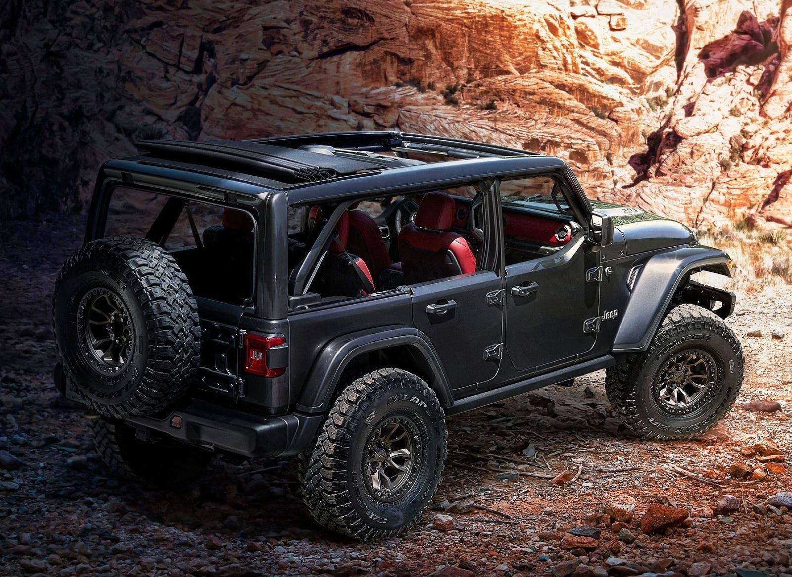 Jeep показал сверхмощного конкурента Гелендвагена