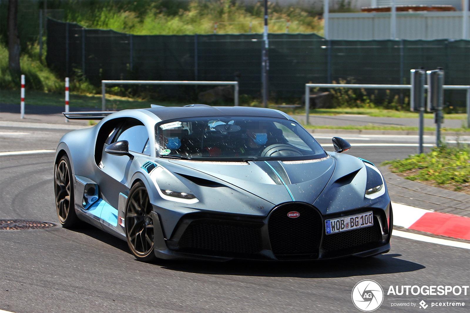 Самый экстремальный гиперкар Bugatti засняли на тестах